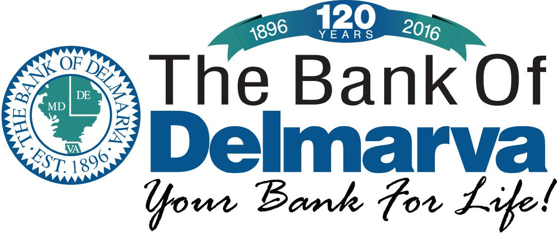 Bank of Delmarva - 120th Anniversary Logo FINAL Version